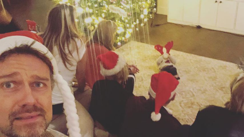 Wayne Carpendale mit seiner Familie zu Weihnachten
