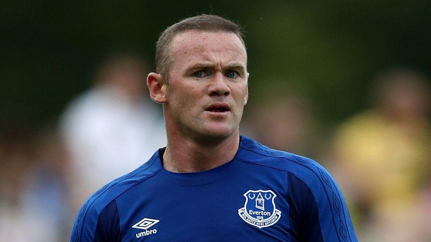 Wayne Rooney beim Spiel FC Twente gegen FC Everton