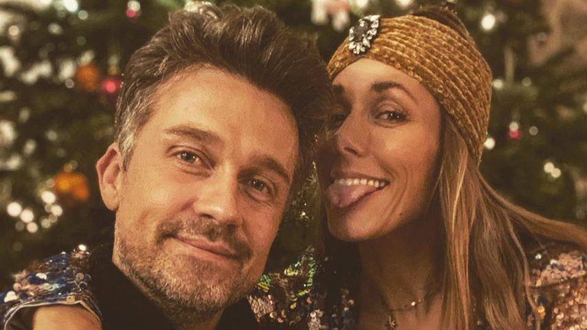 Wayne und Annemarie Carpendale zu Weihnachten 2019
