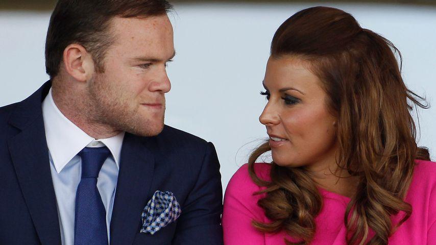 Wayne und Coleen Rooney in England