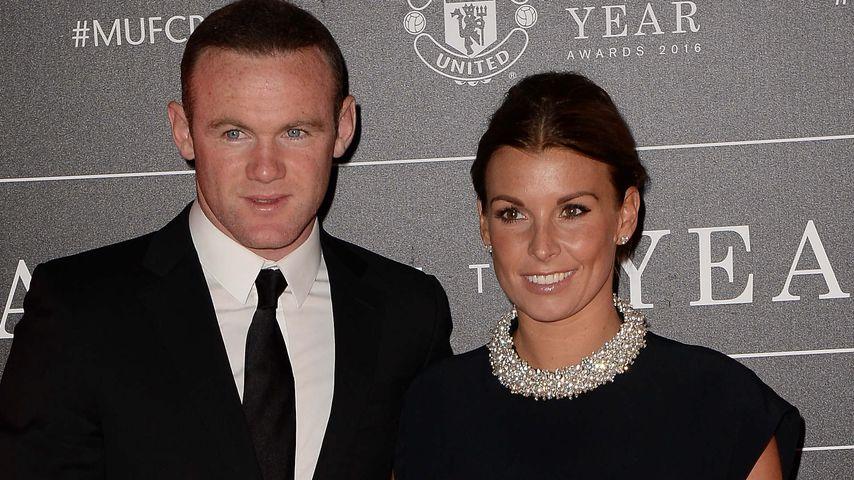 Wayne und Coleen Rooney bei einer Preisverleihung von Manchester United