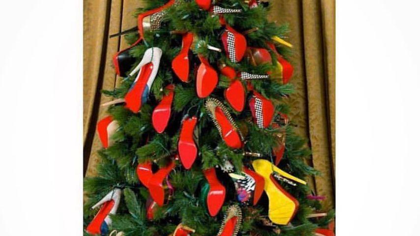 Weihnachtsbaum-Post von 50 Cent
