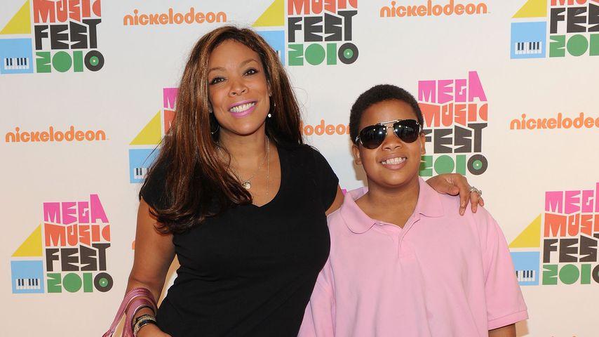Wendy Williams mit Sohn Kevin Hunter Jr. 2010