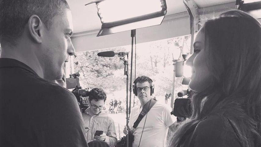 """Wentworth Miller und Sarah Wayne Callies am Set der fünften Staffel von """"Prison Break"""""""