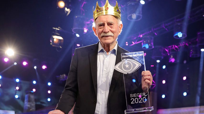 "Werner Hansch, Sieger der ""Promi Big Brother""-Staffel 2020"