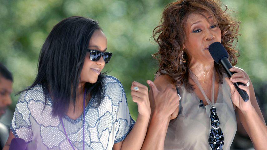 Whitney Houston mit Tochter Bobbi Kristina (l.)
