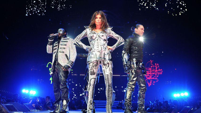 Will.i.am, Fergie und Taboo von den Black Eyed Peas, 2010