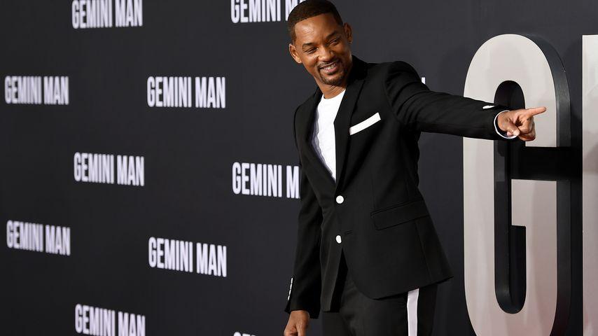 Will Smith bei einer Filmpremiere in Hollywood, 2019