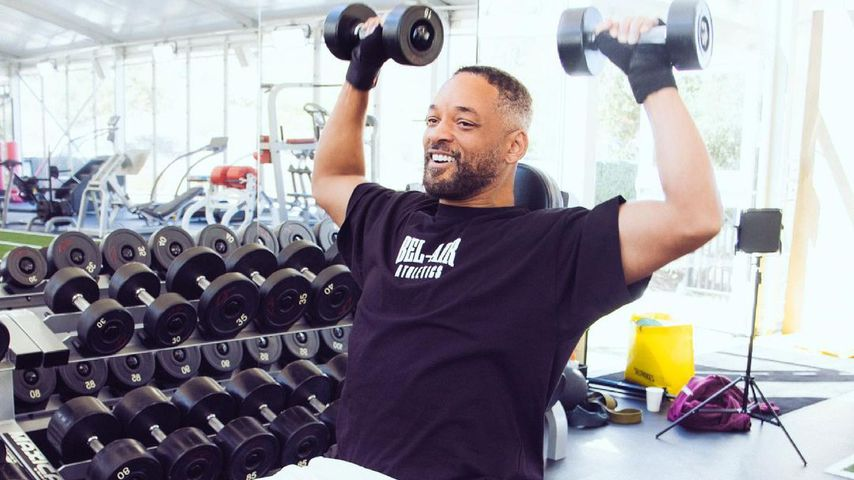 Weg mit den Extrakilos: Will Smith macht jetzt fleißig Sport