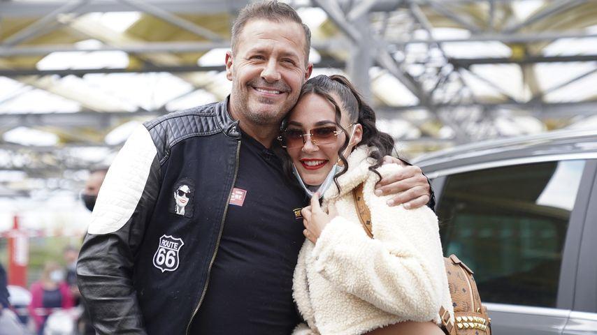 Willi Herren und seine Tochter Alessia