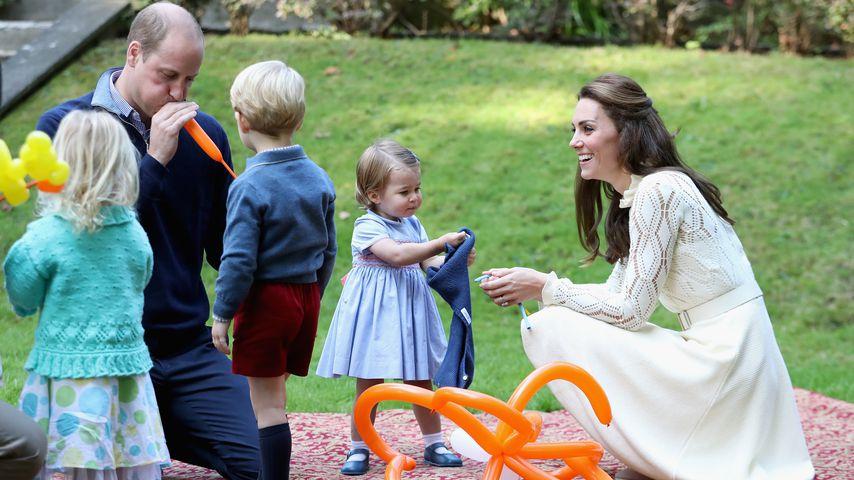 Prinz William, Prinz George, Prinzessin Charlotte und Herzogin Kate in Kanada, 2016