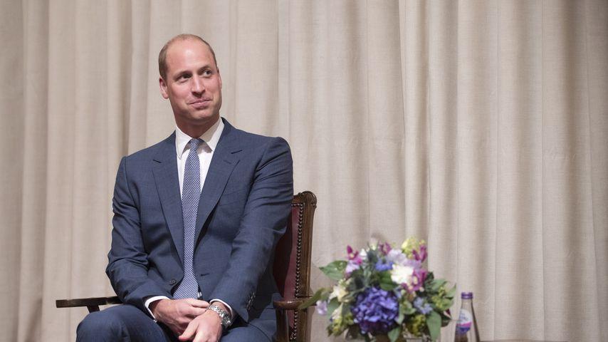 Prinz William bei einem Besuch in Schottland