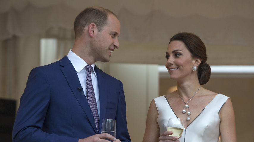 William und Kate in Warschau