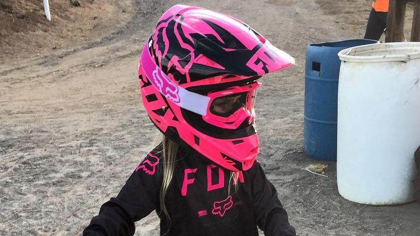 Durchstarterin: Pinks Tochter siegt bei ihrem 1. BMX-Rennen!