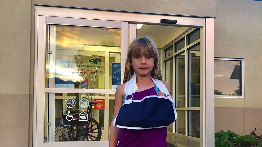 Arm verstaucht: Pinks Tochter Willow (7) in der Notaufnahme!