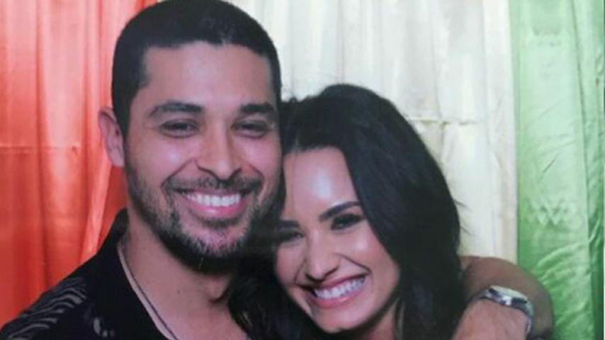 Best Friends mit dem Ex: Demi Lovato & Wilmer Valderrama