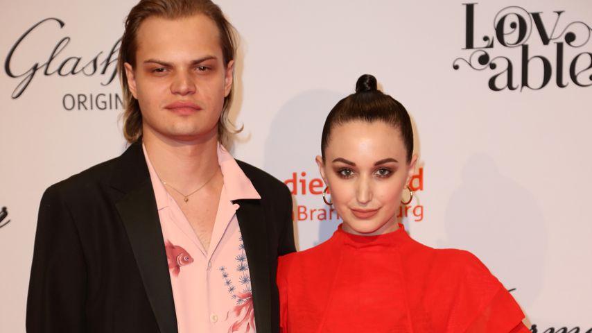 Wilson Gonzalez Ochsenknecht und Lorraine Bedros bei der Berlinale 2018