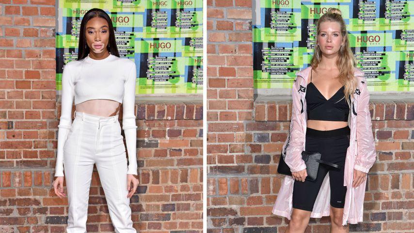 Winnie Harlow, Moss & Gerber: Model-Auflauf bei Fashion Week