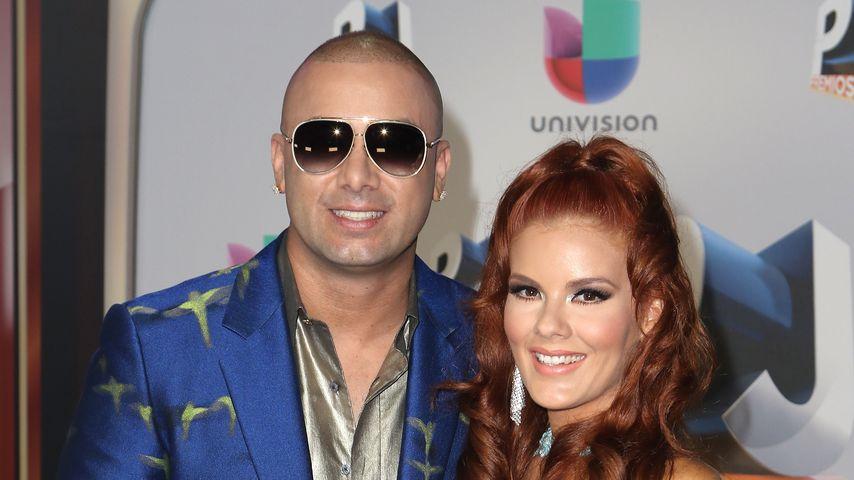 Wisin und seine Ehefrau Yomaira Ortiz Feliciano