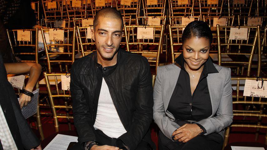 Wissam Al Mana und Janet Jackson bei der John Galliano Fashion Show