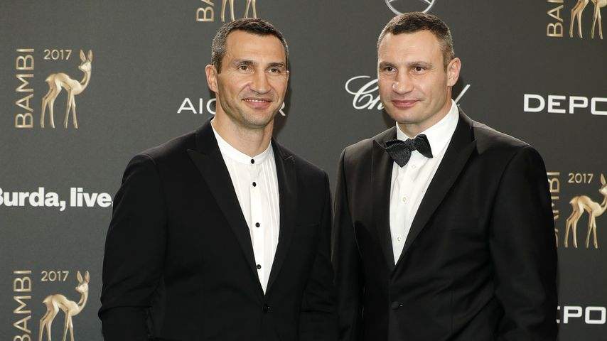 Wladimir und Vitali Klitschko beim Bambi 2017