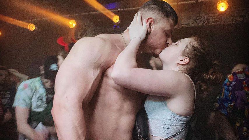 Yannic Dammaschk und seine Freundin Julia