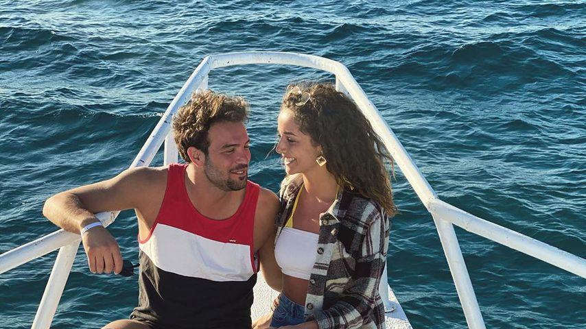 Yasin und Samira im März 2020 in Hurghada