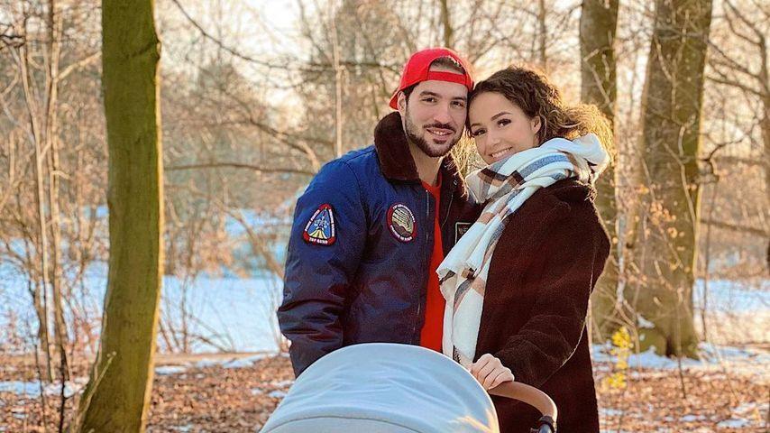 Yasin und Samira im Februar 2021 in Hamburg