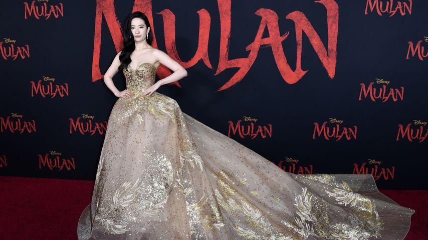 """Yifei Liu bei der """"Mulan""""-Premiere in Los Angeles im März 2020"""