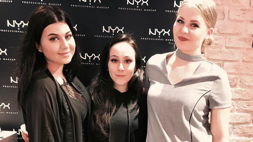 Youtuber DominoKati, Hatice Schmidt und Nihan0311 bei einer Veranstaltung von NYX 2017
