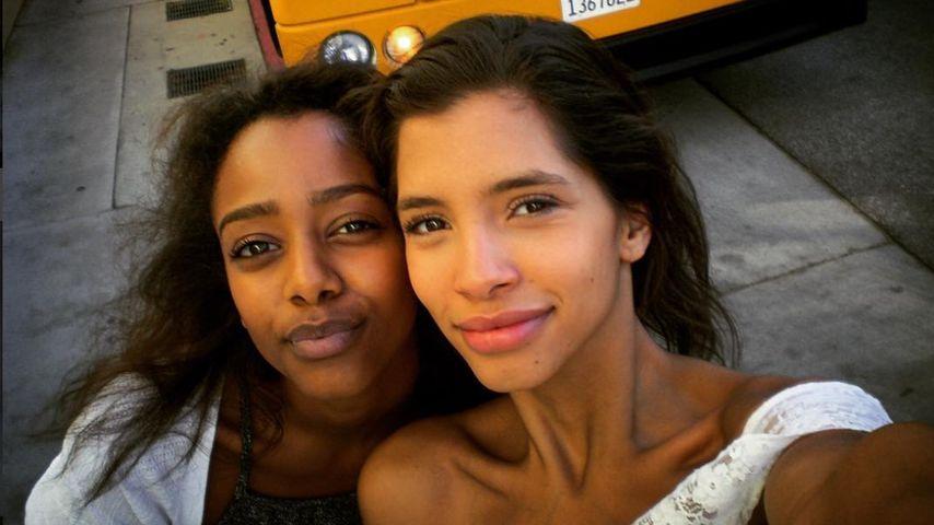 Yusra Babekr-Ali und Lara Helmer, Ehemalige GNTM-Kandidatinnen