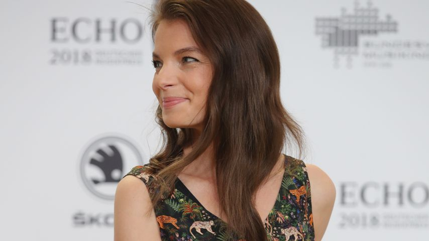 Yvonne Catterfeld beim Echo in Berlin