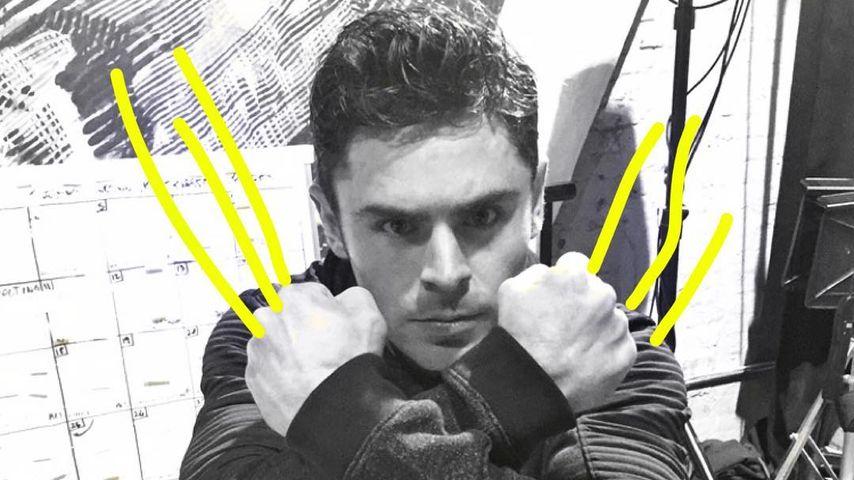 Zac Efron als Wolverine