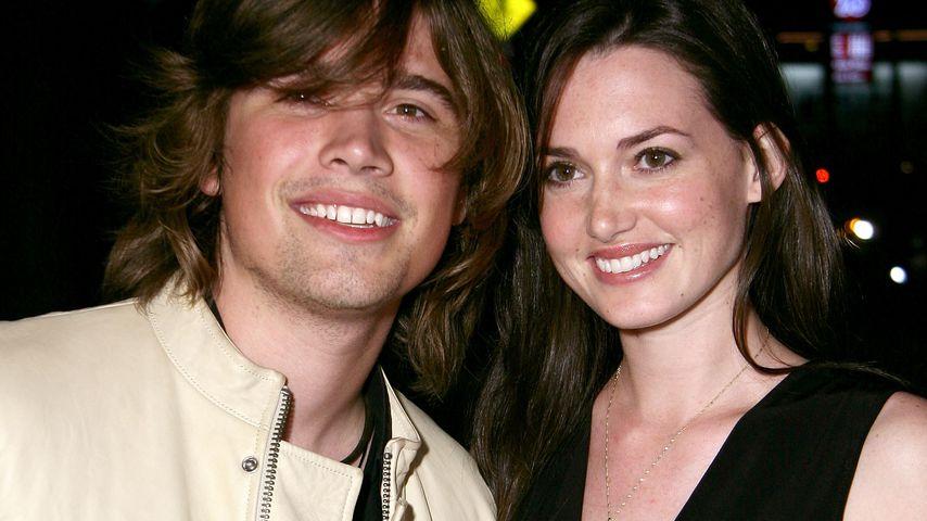 Zac und Kathryn Hanson im Oktober 2007