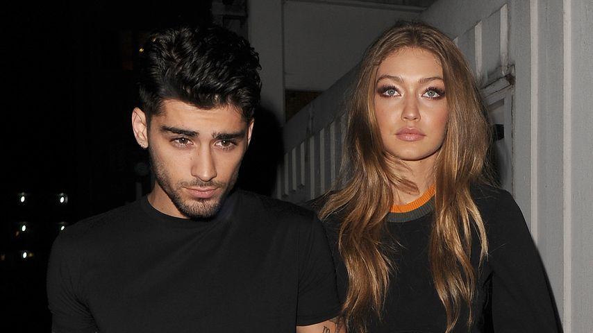 Zayn Malik und Gigi Hadid im September 2016 nach einer Versace-Show in London.