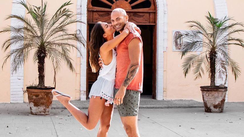 Ziania Rubi und ihr Partner Fabian Nickel