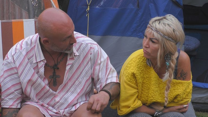 """Zlatko Trpkovski und Ginger Costello bei """"Promi Big Brother"""" 2019"""