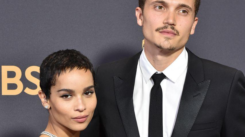 Zoe Kravitz und Karl Glusman bei den Primetime Emmy Awards