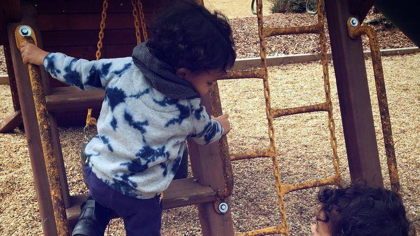 Zoe Saldanas Zwillinge Bowie und Cy