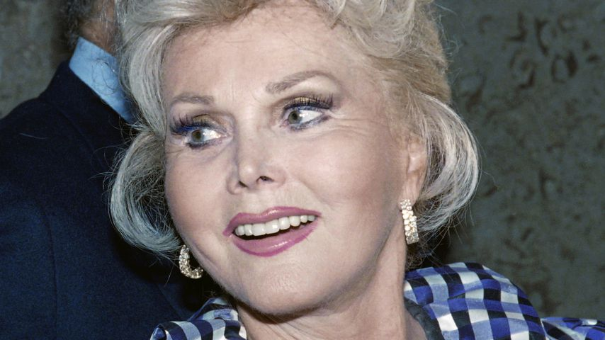Zsa Zsa Gabor 1989 in Beverly Hills