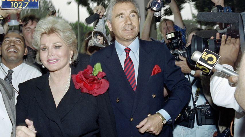 Zsa Zsa Gabor und Prinz Frédéric von Anhalt im Jahr 1989