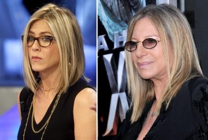 Wird Jen Aniston Barbra Streisands Doppelgänger ...