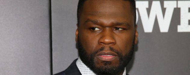 50 Cent bei einer Premiere
