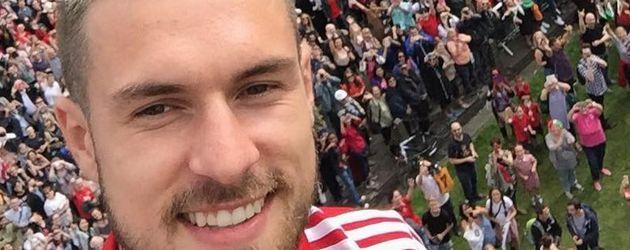 Aaron James Ramsey, walisischer Fußballspieler