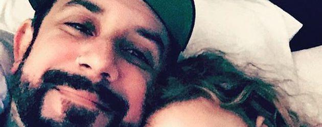 AJ McLean und seine Tochter Ava