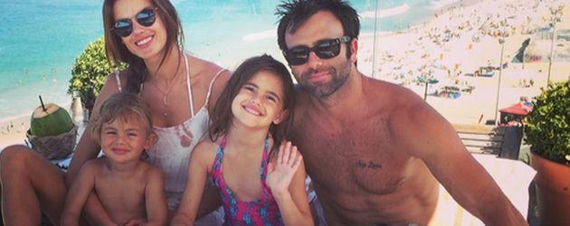 Alessandra Ambrosio und ihre Familie in Brasilien