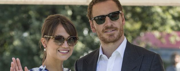Alicia Vikander und Michael Fassbender beim Filmfest in Venedig