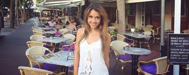 Alisa unterwegs in Ibiza-Stadt