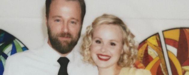 Joshua Leonard und Alison Pill bei ihrer Hochzeit