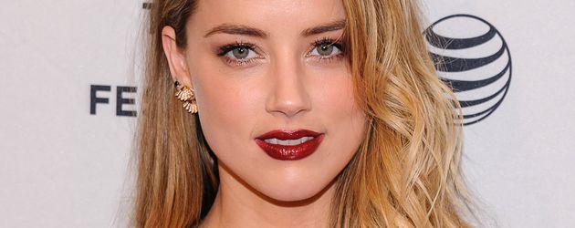 Amber Heard beim 2015 Tribeca Film Festival